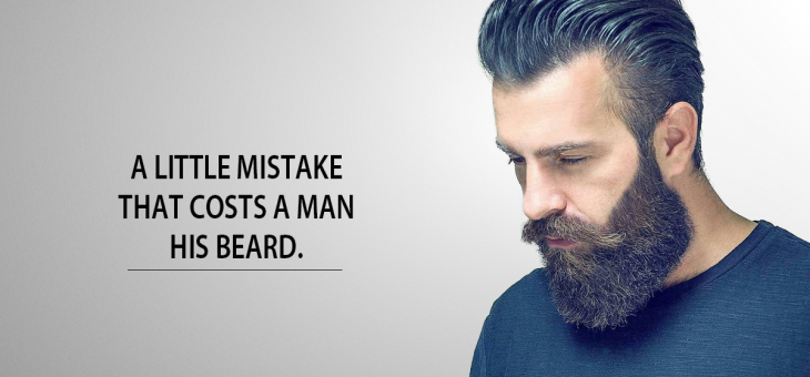 MOST OF YOU FALSELY BELIEVE YOU CAN'T GROW A THICKER FULLER BEARD.