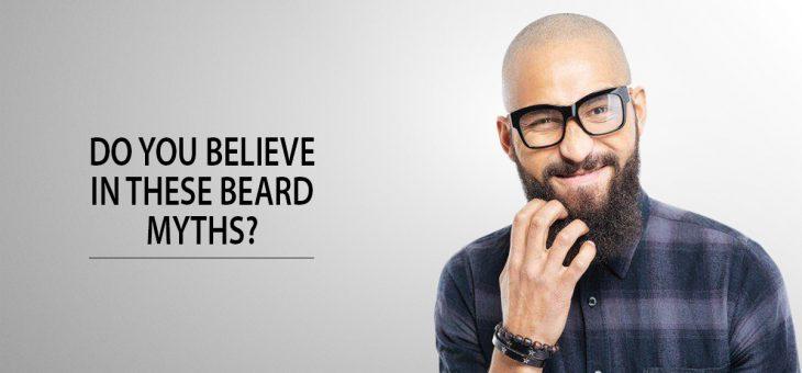 3 common beard myths that most men shamelessly believe in.
