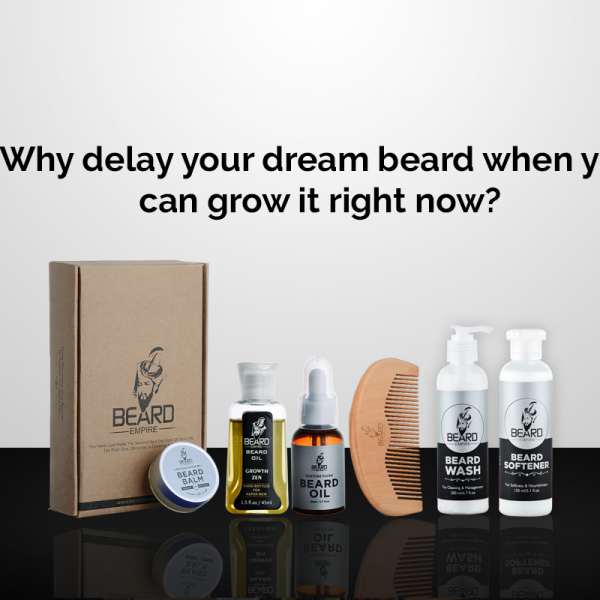 why delay your dream beard